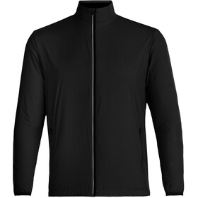 Icebreaker Incline Windbreaker Jas Heren, black